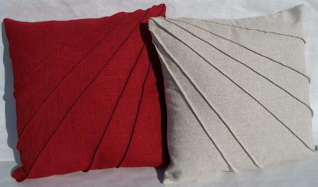 Krista Sew Inspired: Star-Burst Pintuck Pillow Cover - Tutorial