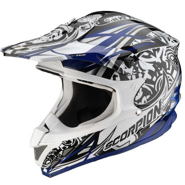Tout Scorpion est chez Speedway.fr #speedwayfr #speed #france #moto #casque #white #blanc #casques #cross