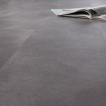 Dalle PVC adhésive AERO, anthracite, 30.48 x 30.48 cm | Leroy Merlin