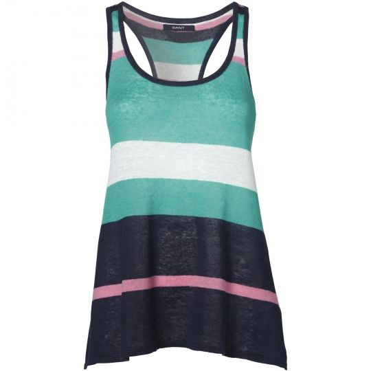 Love the colors and varying stripe sizes!  I would love to own this tank.