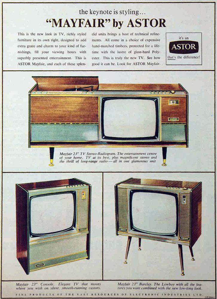 Astor TVs, 1964