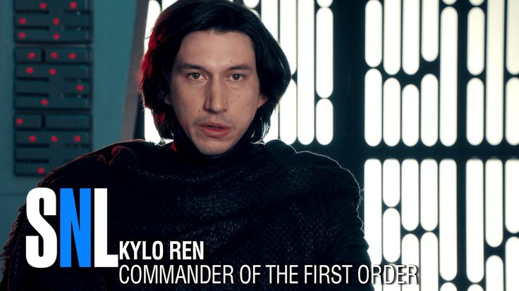 Adam Driver on SNL. This is hilarious!