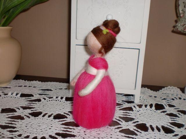 ♥ plstěná panenka ♥