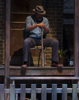"""David Alan Anderson in Arizona Theatre Company's FENCES. Photo by Tim Fuller. - flexed Caption: David Alan Anderson appear in Arizona Theatre Company's """"Fences"""" Feb. 11–28 at the Herberger Theater Center. - #examinercom"""