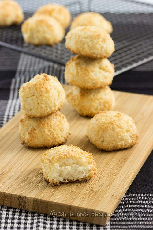 Coconut Macaroons from Christine's Recipes