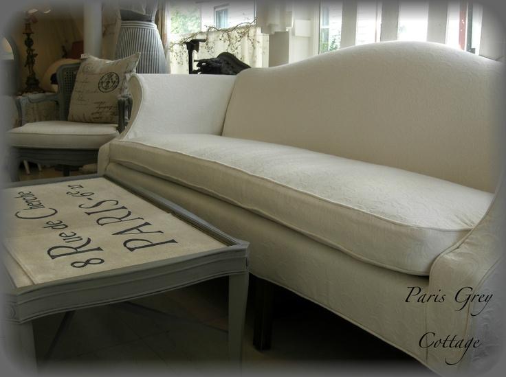 Camelback Sofa Slipcover Pattern – Loopon Sofa