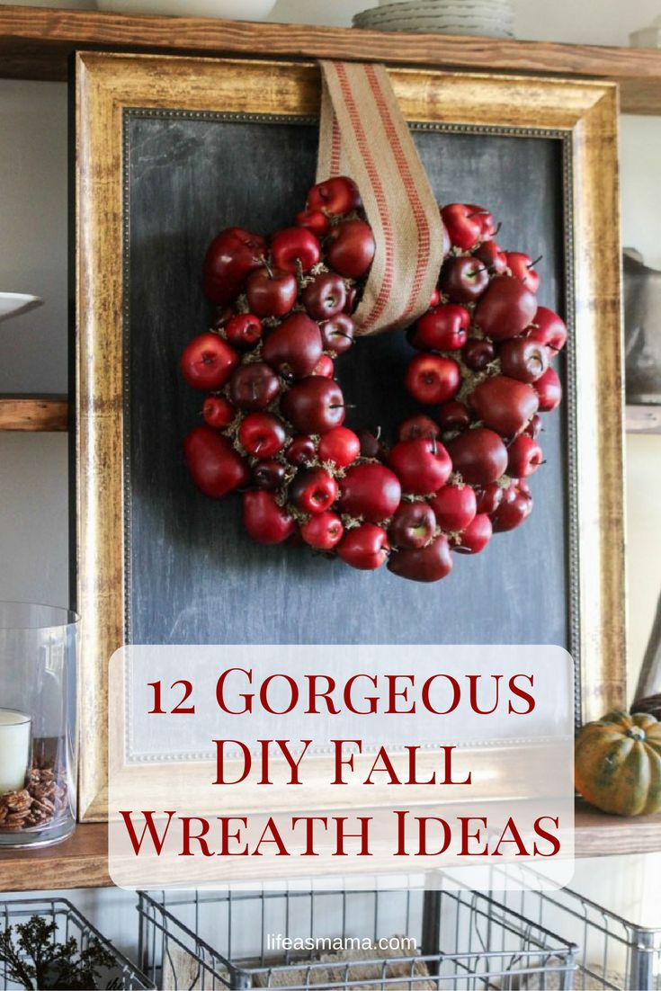 Nothing beats the rich reds, oranges and browns that autumn is known for, and incorporating them into your home makes the time of year all the more rich. One of the best decor items is a door wreath and there are many options when it comes to creating your own Fall wreath.