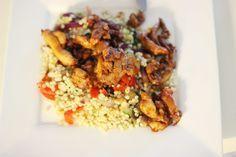 gezonde kip kebab met couscous