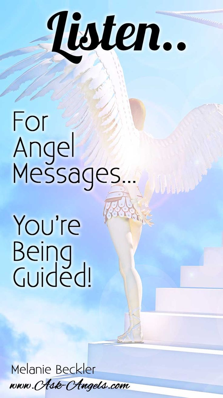 Listen For Angel Messages... You're being guided!   Learn more in the Complete Guide to Angel Messages here:   >>   #angelmessages