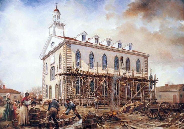 Kirtland Temple — Walter Rane