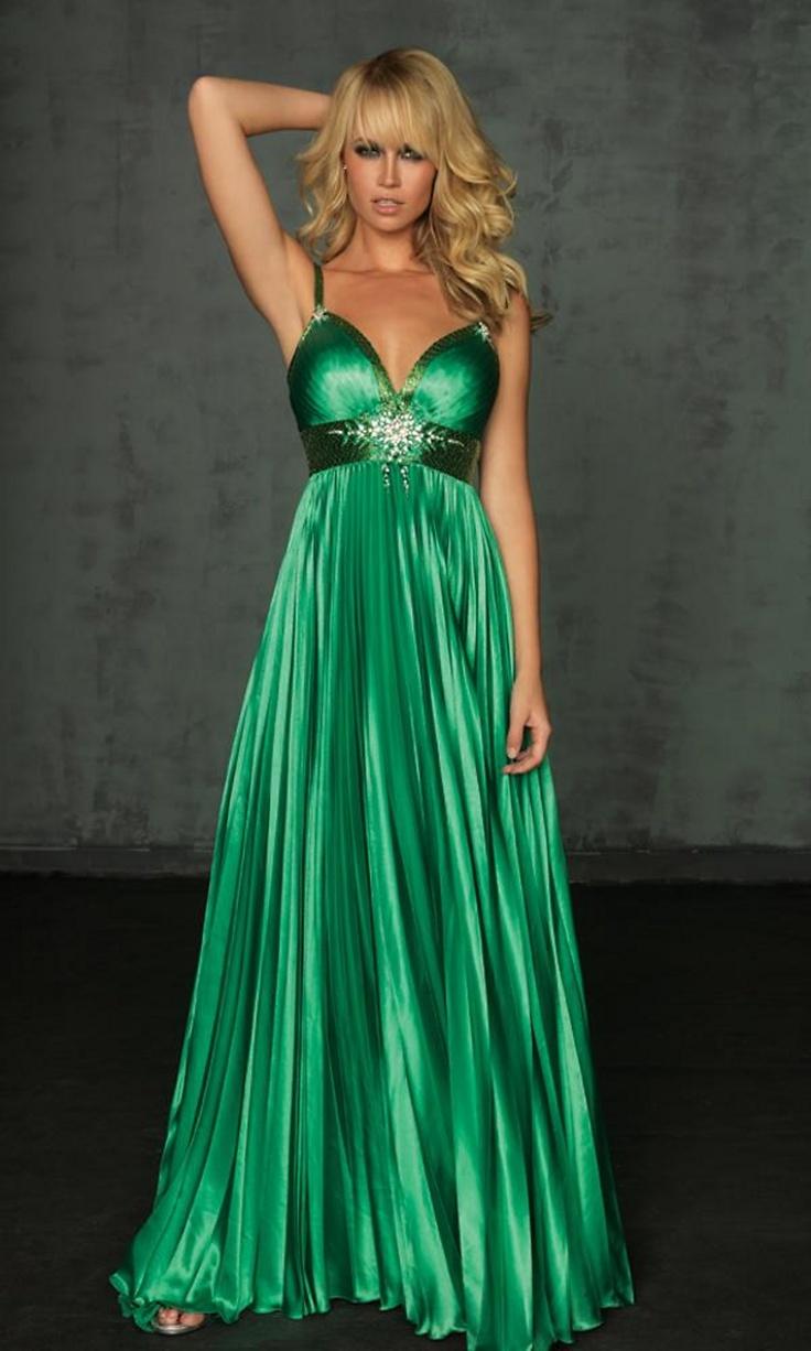 Satin Pleated Night Moves Prom Dress 6006L (AMAZING PRICE!)