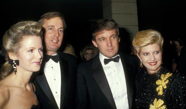 Blaine Trump Robert Trump Donald Trump and Ivana Trump