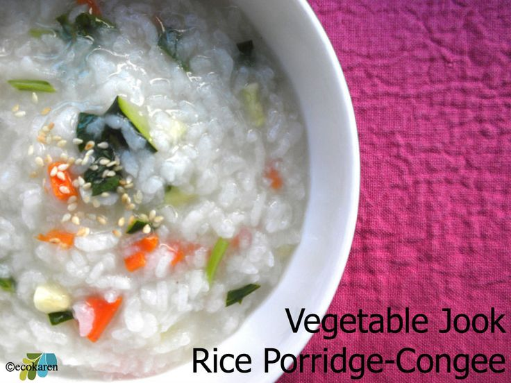 Vegetable rice porridge is perfect as breakfast but also when your stomach is acting up. Check out this delicious rice porridge (Congee) recipe that uses vegetables to add more flavor and texture.