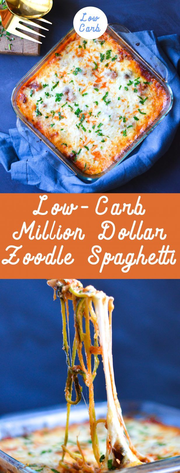 You WILL NOT miss the carbs in this Million Dollar Zoodle Spaghetti. Get ready for your new obsession. via @mymoderncookery