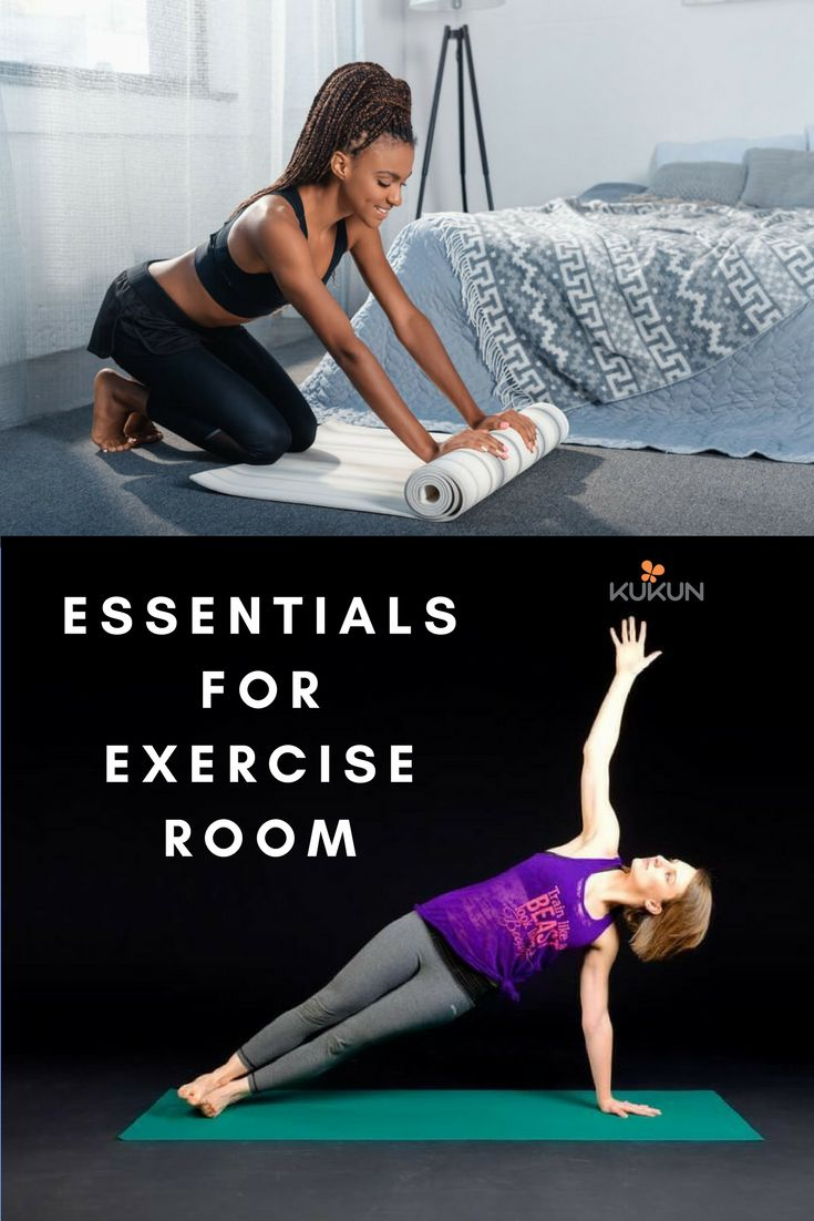 Essentials for exercise room. [Home Exercise, Exercise Room Ideas, Exercise Room Home, Informative, Informative Tips, Things to Know, Tips and Tricks for Life]