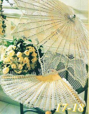 Crochet fan ♥LCF-MRS♥ with diagram
