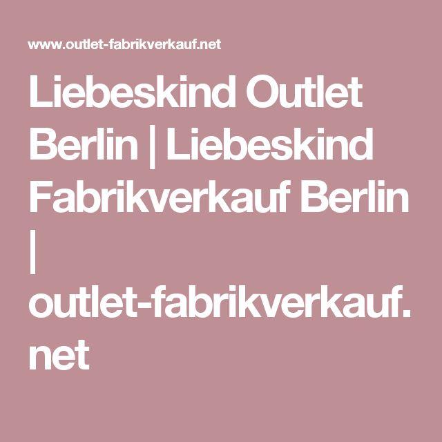 Liebeskind Outlet Berlin | Liebeskind Fabrikverkauf Berlin | outlet-fabrikverkauf.net