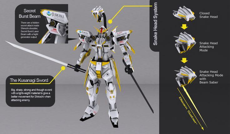 D-73ZX The Shirochi - Armaments