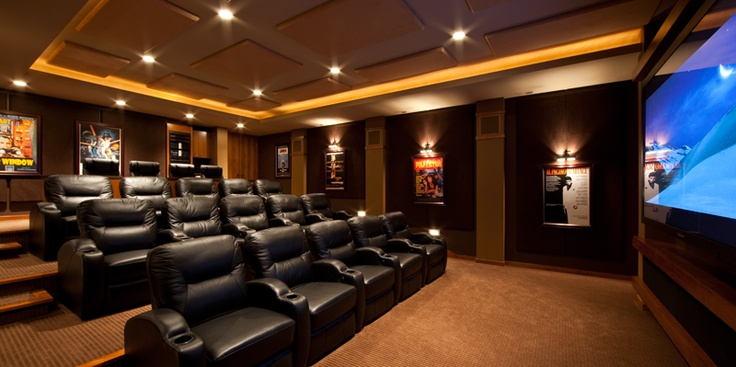 My Home Theater Charles Stinson Architect Laurie Plattes