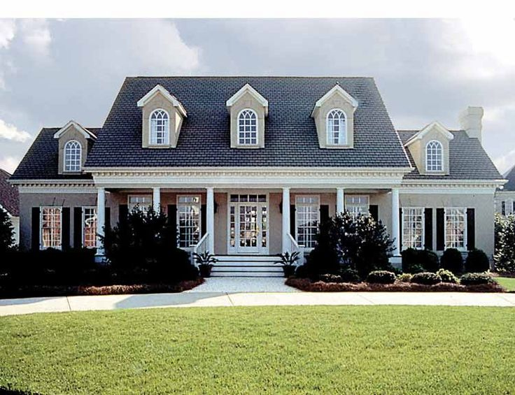 Greek Revival House Plan with 3338 Square Feet and 4 Bedrooms(s) from Dream Home Source | House Plan Code DHSW05361
