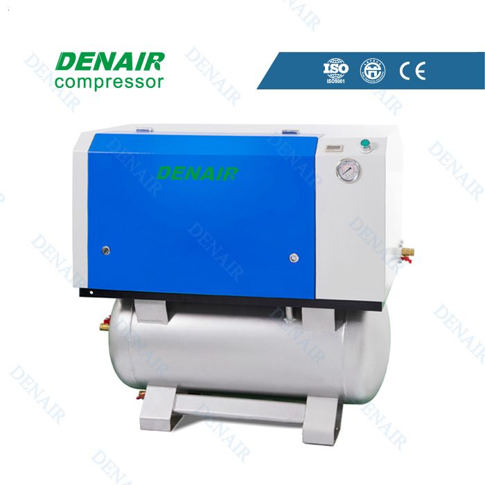 "Oil-free scroll air compressor Model:DWW-4S Working Pressure(Mpa):0.6-0.8  Rated Power(kw/HP):3.7(5)  F.A.D(m3/min):0.415 No. of Airend(Units):1 Pipe Dimension(inch):15A(1/2"") Noise Level[Db(A)]:50  Dimension[mm( L*B*H)]:680*1000*950 Weight(kg):230 Qualification And Quality Certificate: GC energy-saving Certification, CE European Union standardCertification, ISO9001 the United Kingdom LRQA Certification"