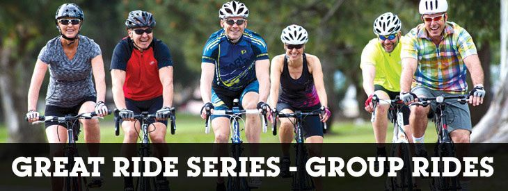 Performance Bicycle group rides!