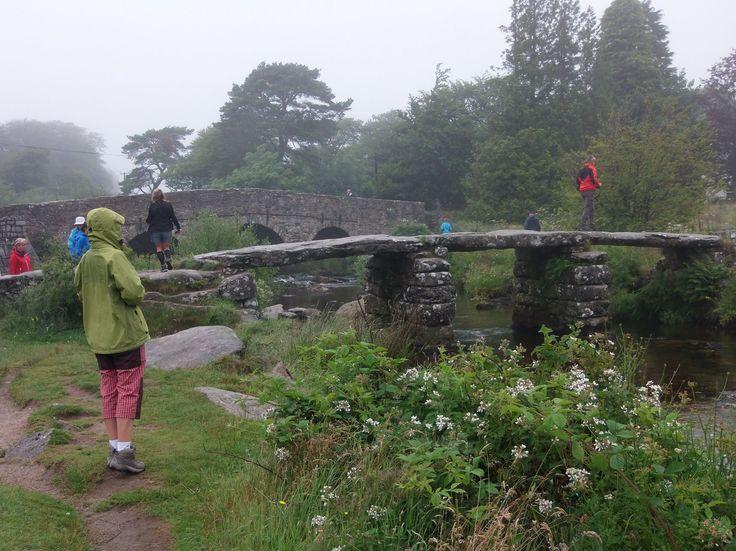 Two Bridges v Dartmooru - ten menší most