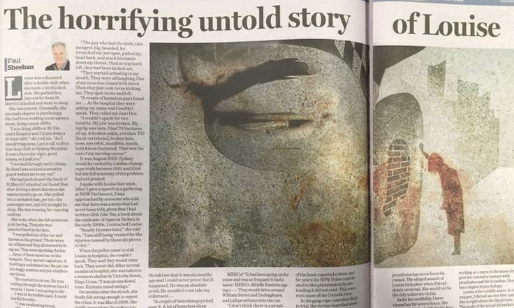 Sydney Morning Herald columnist says he regrets writing incendiary column based on the 'false memories and fabrications' of a woman he called Louise