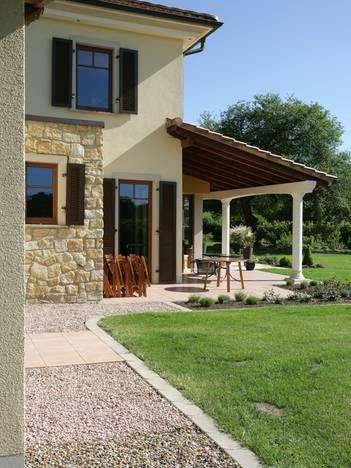 Fassadengestaltung einfamilienhaus beispiele grün  Die besten 25+ Bunte fassadenfarben Ideen auf Pinterest | Auffahrt ...