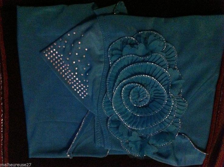 Ramadan Eid Fashion Flower Amira Hijab Scarf Abaya  Niqab Burqa Jilbab Muslim  #Handmade