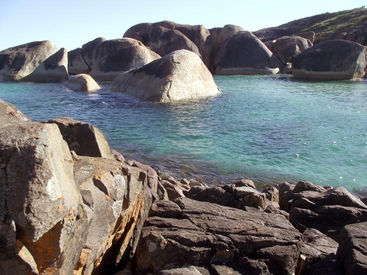 A look across Elephant Cove.