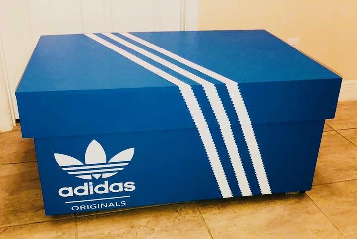 Adidas Originals Shoe Storage Box – Giant Shoe Boxes | Adidas ...