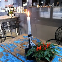 The Garage...favorite wine bar/restaurant in Berg Bazaar, Riga