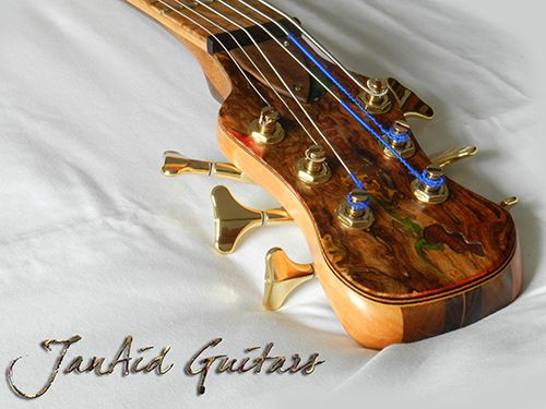 JanAid Guitars. A Piece Of Nature In Your Hands. Being unique and unrepeatable as you are, you deserve an instrument specially created by hand. You deserve a JanAid