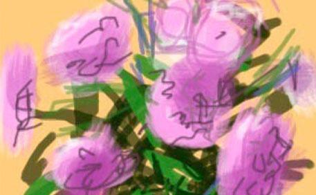 David Hockney- digital art
