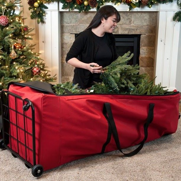 Santa's Bags Premium Christmas Tree Dolly Extra Large Storage Bag