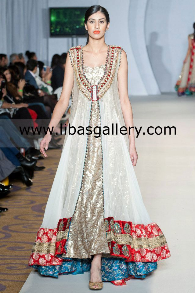 Nomi Ansari Collection 2013 At Pakistan Fashion Week