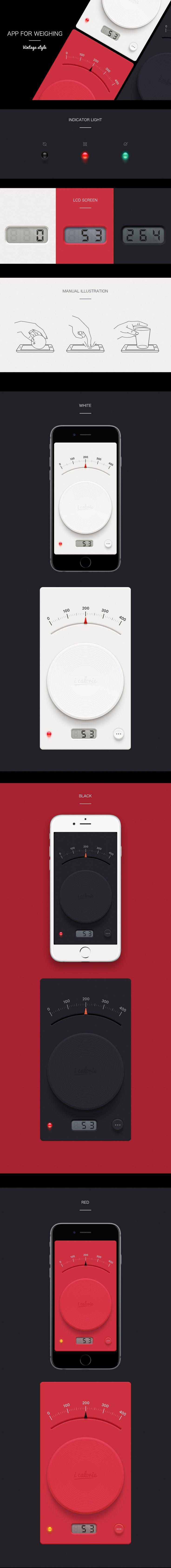 App for weighing