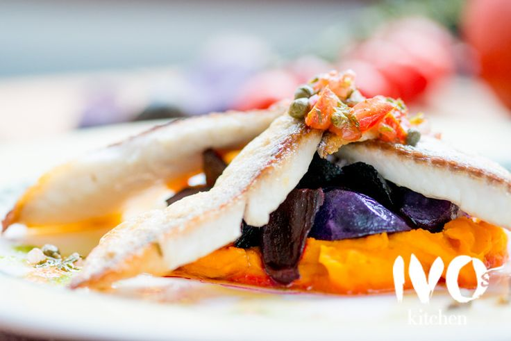 Fish - Enjoy this delicious dish at Ivo's Kitchen restaurant  #food #amsterdam #ivoskitchen #restaurant #meal