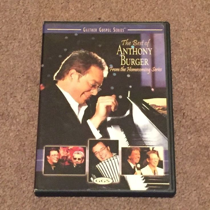 The Best of Anthony Burger Gaither Gospel Series (DVD, Music Video, Christian)
