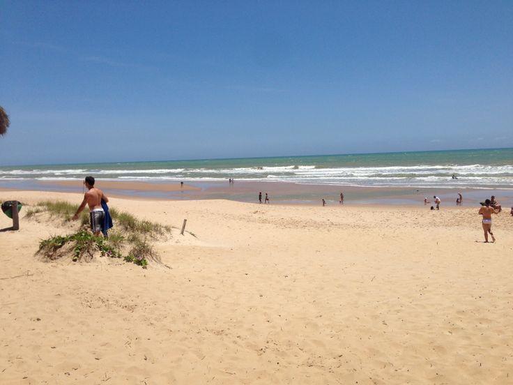 Brasil, playa de Imbassaí!