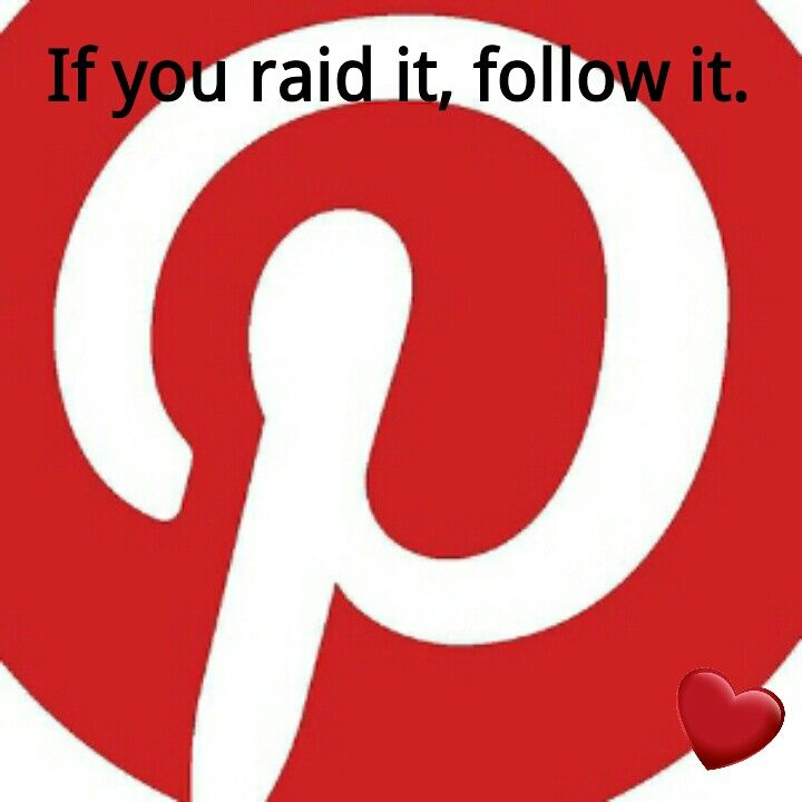 """Exactly, if you're going to repin 10 to 15 things from a Pinner, then be polite enough to FOLLOW them!! It's just RUDE to raid another pinners boards! Place yourself & think how you would feel if someone came along & pinned a large number of pins from you! We """"Share"""" on Pinterest....not raid & pin someone's entire board!! Not Nice!! U Wiill b Blocked."""