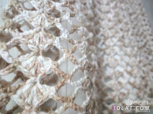 بلوزة كروشية صيفى للبنات فستان وبالباترون 13654658253.jpg