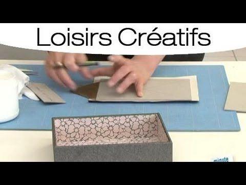 Faire son propre couvercle de boite à bijoux - YouTube
