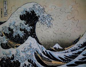 Jigsaw puzzles for Kids Hokusai : The Great Wave of Kanagawa