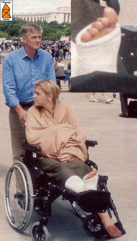 Princess-Máxima gebroken voet voor huwelijk, bij huwelijk zus van Haakon