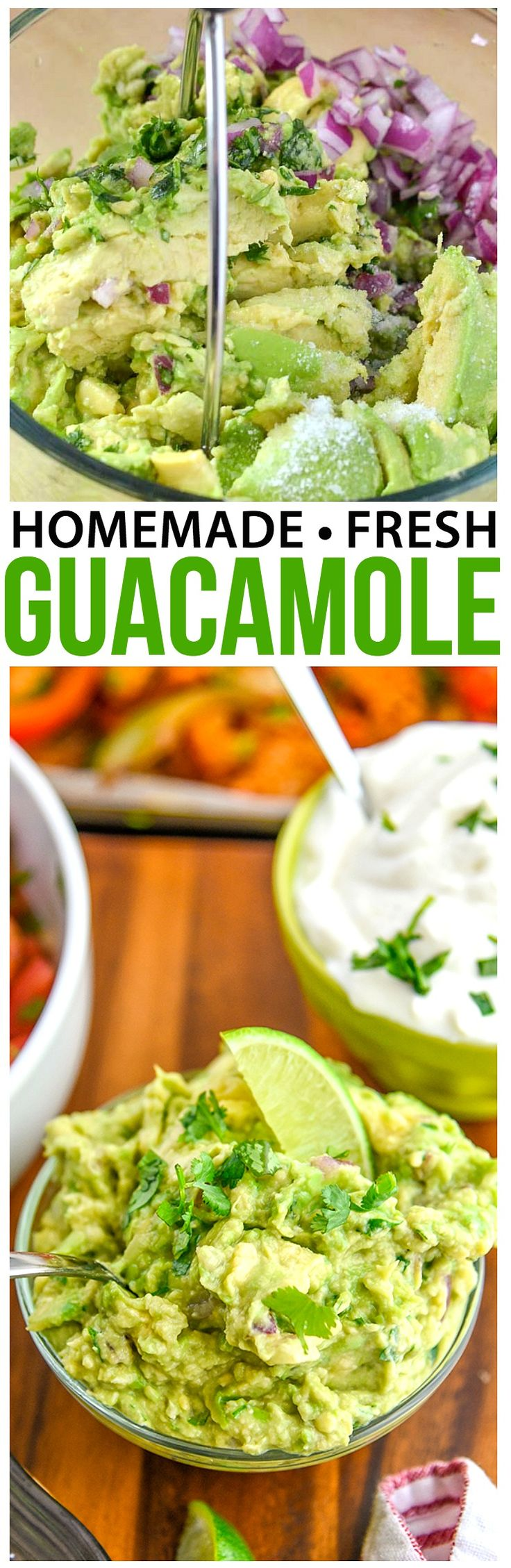 Mini Chef Mondays Fresh Guacamole Recipe -  This is a great guacamole dip that is kid friendly, but still an authentic guacamole recipe. via @CourtneysSweets