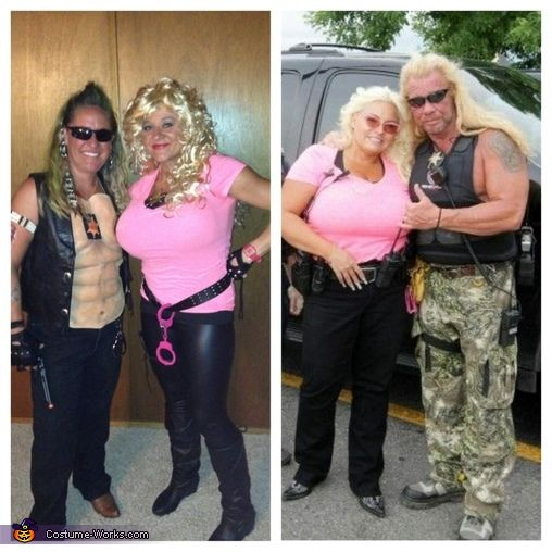 Dog the bounty hunter and wife beth costume homemade for Dog the bounty hunter divorce beth
