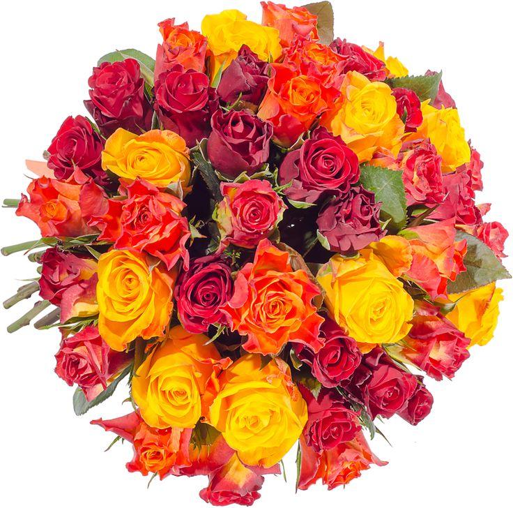 Букет микс из роз