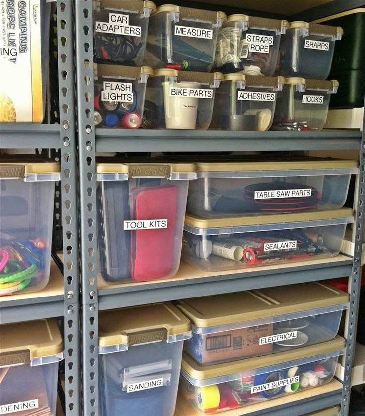 Shelves, Containers and Labels, add a Saturday morning and mix well.